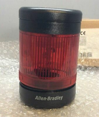 Allen-Bradley 855TC-B10L4 Tower Light Stack Assembly SER C RED *NEW*