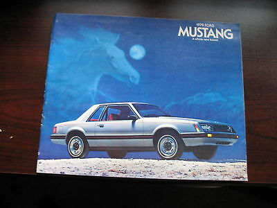 1979 Ford Mustang, A Whole New Breed, Original Sales Brochure