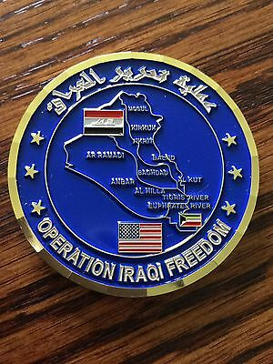 Central Intelligence Agency Operation Iraqi Freedom Coin