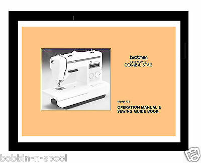 Jones Brother 732 Compal Star Sewing Machine Instructions manual