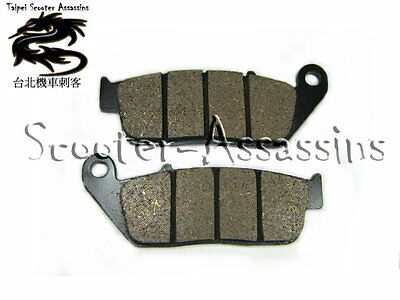 BRAKE PADS for KYMCO Downtown 200i 10-11 Front VMP25  , UK