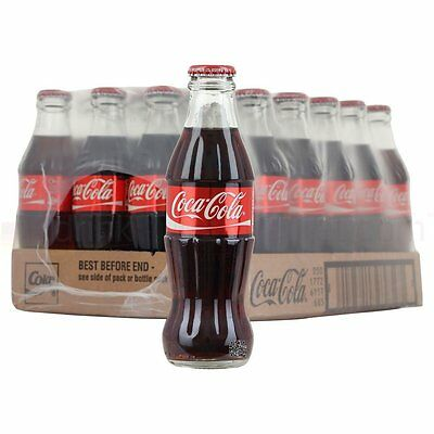 Coca Cola Icon Glass Bottle 330ml Pack of 24