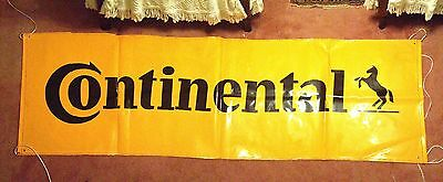 Overstock Sale New Continental Tire Banner Approx. 9 1/2  X 3Ft