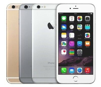 NEW Apple iPhone 6- 64GB GSM Factoy Unlocked -Gold-Silver- Space Gray-Smartphone