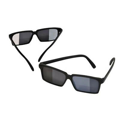 Spy Sunglasses Plastic Glasses See Behind Spying Detective Undercover Seeing