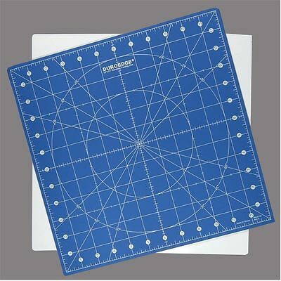 Self Healing Rotating Cutting Mat 12 x 12 inch. For Use With Rotary Cutters