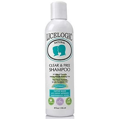 #1 Lice Shampoo and Lice Treatment - LiceLogic - Natural One Day Head Lice