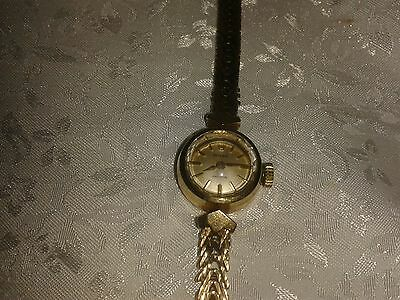 Ladies Vintage 9ct Gold. Rolex Bracelet Watch