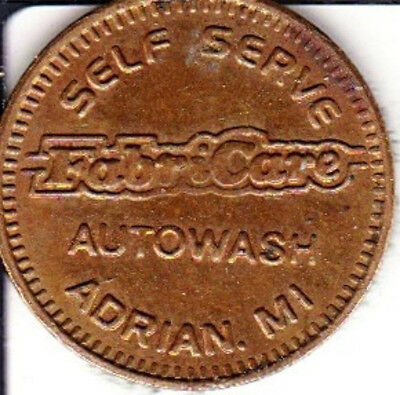 Fabricare Autowash  Car Wash Token Adrian, Michigan