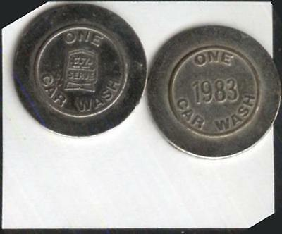 1983 E-Z Serve  Car Wash Token   nickel