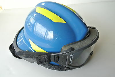 BULLARD USRX HELMET BLUE Fire and Rescue Helmet, Blue, Modern