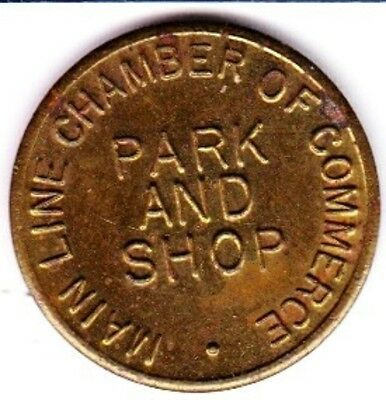 Main Line Chamber of Commerce Parking Token  #2 Haverford, Pennsylvania
