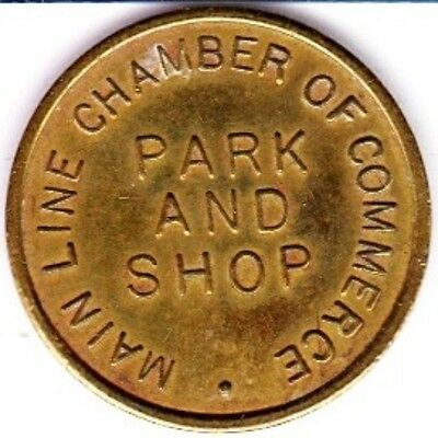 Main Line Chamber of Commerce Parking Token  #1 Haverford, Pennsylvania