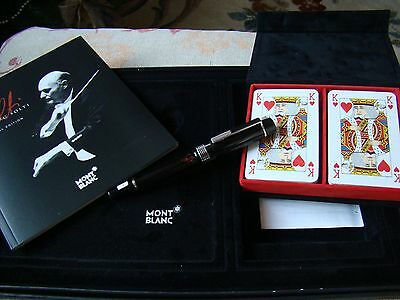 "Montblanc Donation Sir Georg Solti Special Edition Fountain Pen ""new"""