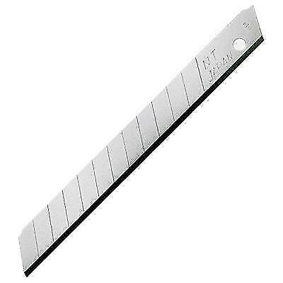 NT Cutter 9mm Snap-Off Blades, 50-Blade/Pack, 1 Pack (BA-50P) New