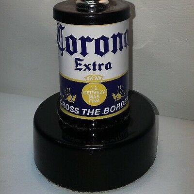 Rare Vintage Corona Extra Beer Bar Mexico Retro Table Lamp