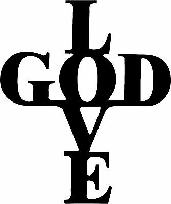 DXF CNC dxf for Plasma Love God Vector Metal Wall Art Dxf