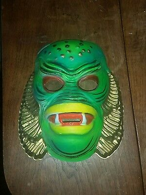 Vintage BEN COOPER Universal Monster CREATURE FROM BLACK LAGOON Halloween Mask
