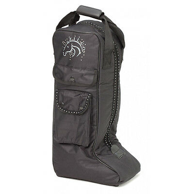 Zilco Bling Boot Bag Horse And Equestrian
