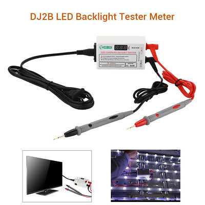 LED LCD Backlight Tester TV Meter Repair Tool Lamp Beads SID GJ2C 85V-265V input
