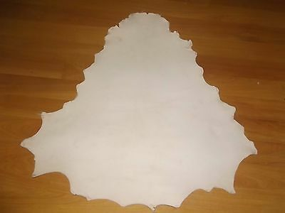 NATURAL VEG TANNED Kangaroo leather 800 mm long x 800 mm wide