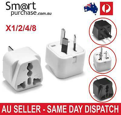 New Universal to AU AC Power Plug Adapter Travel 2 Pin Converter Australian
