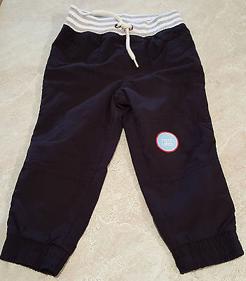 Boys Infant & Toddler Pull-On Elastic Waist Lined Pants-12M-18M-2T-3T-4T-5T