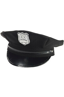 Brand New Cloth Police Officer Cop Hat Costume Accessory