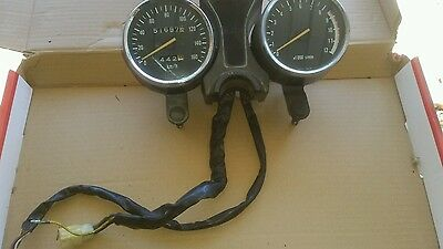 suzuki gn 250 speedo, tacho, instrument lights