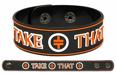 TAKE THAT Rubber Bracelet Wristband Everything Changes Nobody Else