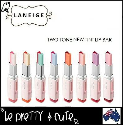LANEIGE TWO TONE NEW TINT LIP BAR 2g Korean Lip balm stain Free AU Shipping