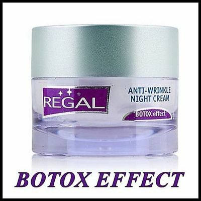 REGAL Age Control Anti-Wrinkle NIGHT Face and Neck Cream - Hyaluron Lift 45ml