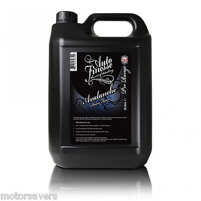 Auto Finesse - Avalanche 5 Litre Snow Foam - Free Fully Tracked Courier