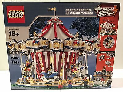 [PRICE DROP] Lego 10196 - Grand Carousel - Brand New and in Sealed Box
