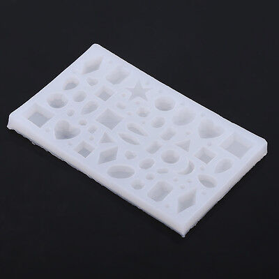 DIY Silicone Pendant Mold Making Jewelry For Resin Necklace Mould Craft Tools AM