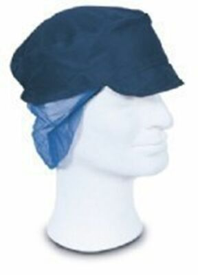 Snood Caps with Hairnet Blue (Qty 500) Work wear, head protection, Hat