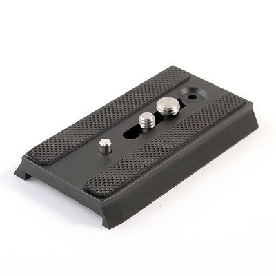 501PL RC5 Sliding Quick Release Plate 1/4 3/8 for Manfrotto 501 503 701HDV MH055