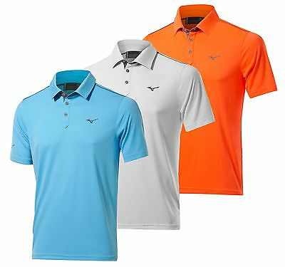 2017 Mizuno Golf Mens Piquet Polo Shirt RRP£40 - 1st Class Post S M L XL