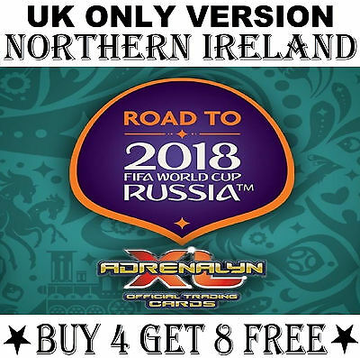 NORTHERN IRELAND Road To World Cup 2018 card/s Panini Adrenalyn