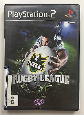 PlayStation 2 Rugby League PS2 Game