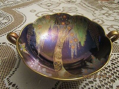 Very Rare Carlton Ware Eden Bowl