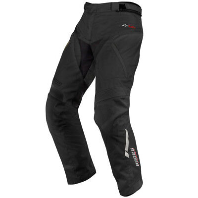 Alpinestars Andes Drystar Waterproof Textile Motorcycle Touring Trousers - Black