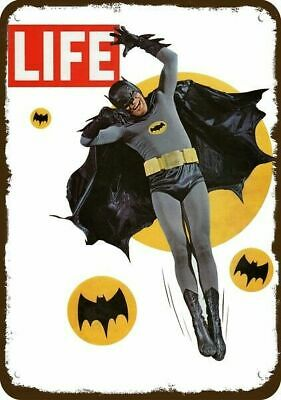 1966 BATMAN Life Magazine COVER ONLY Vintage Look Replica METAL SIGN