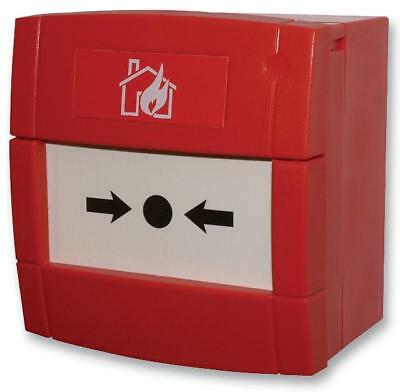 Red Break Glass Fire Alarm Call Point 680 Ohm