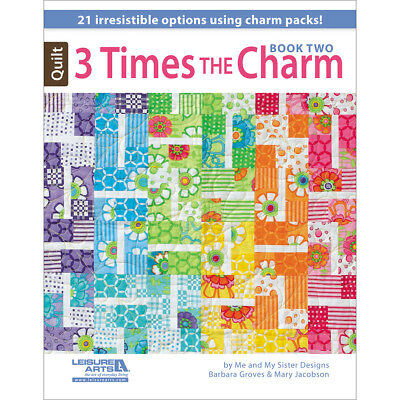 Leisure Arts 3 Times The Charm Book Two LA-5952