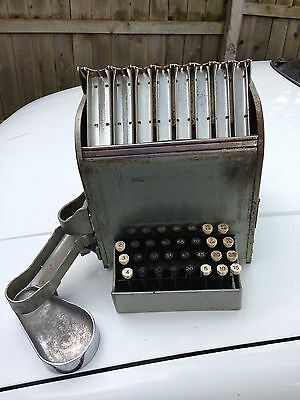 Vintage Johnson Lightning Coin Change Maker Very Heavy