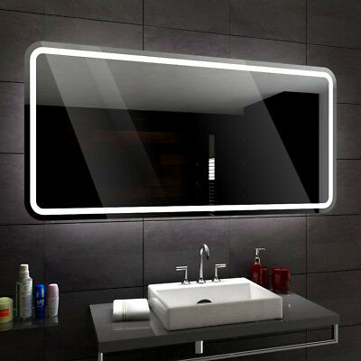 MADRID Illuminated Led bathroom mirror  Custom Size Variants - To Measure