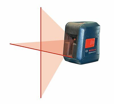Bosch Self-Leveling Cross-Line Laser Level with Mount, Model GLL 2