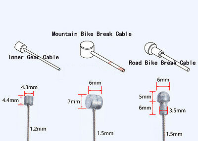 Jagwire  Road or Mountain bike inner Front  Rear Stainless Gear & break cables