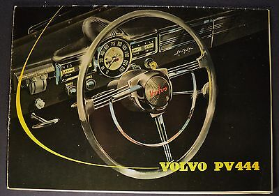 1957 Volvo PV444 Catalog Sales Brochure Nice Original 57